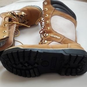 Genuine Leather Youth Boots